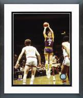 Utah Jazz Pete Maravich Action Framed Photo
