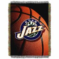 Utah Jazz Photo Real Throw Blanket