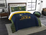 Utah Jazz Reverse Slam Full/Queen Comforter Set