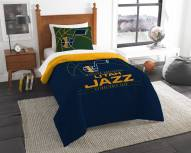 Utah Jazz Reverse Slam Twin Comforter Set