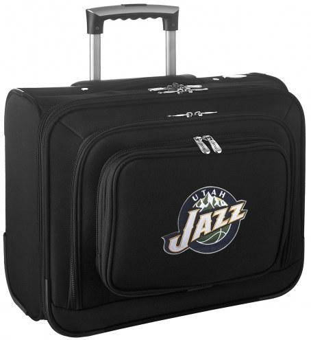 Utah Jazz Rolling Laptop Overnighter Bag