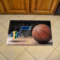 Utah Jazz Scraper Door Mat
