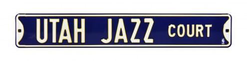 Utah Jazz Street Sign