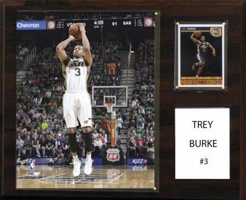 "Utah Jazz Trey Burke 12"" x 15"" Player Plaque"