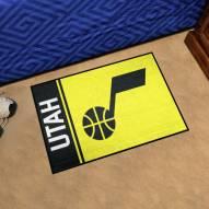 Utah Jazz Uniform Inspired Starter Rug