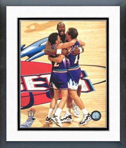 Utah Jazz Utah Jazz Celebration Framed Photo