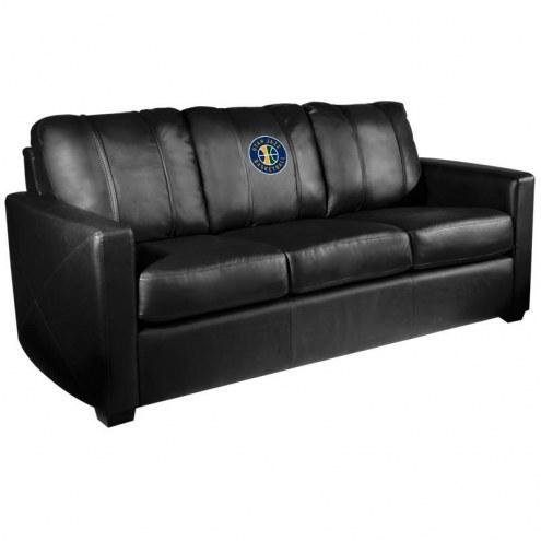 Utah Jazz XZipit Silver Sofa with Secondary Logo