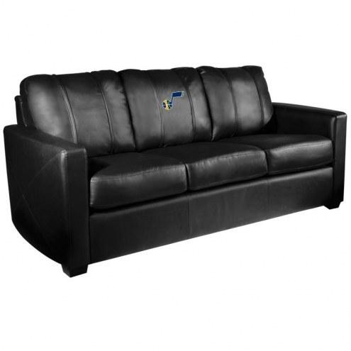 Utah Jazz XZipit Silver Sofa
