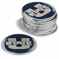 Utah State Aggies 12-Pack Golf Ball Markers