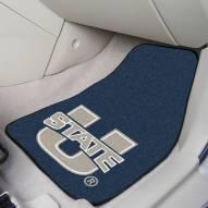 Utah State Aggies 2-Piece Carpet Car Mats