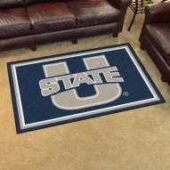 Utah State Aggies 4' x 6' Area Rug
