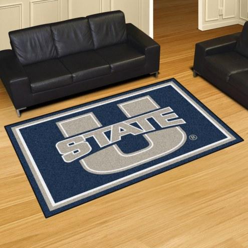 Utah State Aggies 5' x 8' Area Rug