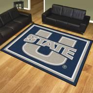 Utah State Aggies 8' x 10' Area Rug