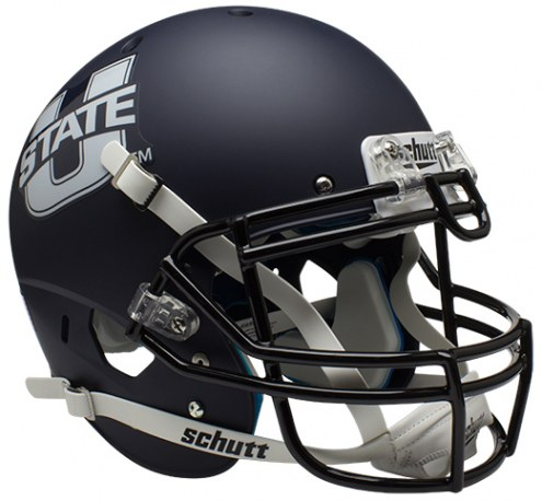 Utah State Aggies Alternate 1 Schutt XP Authentic Full Size Football Helmet