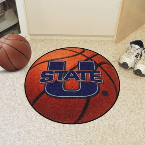 Utah State Aggies Basketball Mat
