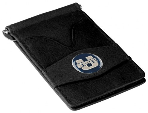 Utah State Aggies Black Player's Wallet