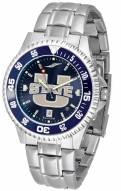 Utah State Aggies Competitor Steel AnoChrome Color Bezel Men's Watch