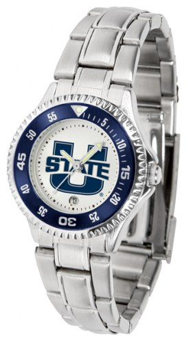 Utah State Aggies Competitor Steel Women's Watch