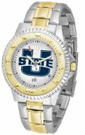 Utah State Aggies Competitor Two-Tone Men's Watch