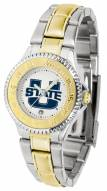Utah State Aggies Competitor Two-Tone Women's Watch
