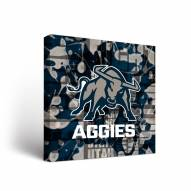Utah State Aggies Fight Song Canvas Wall Art