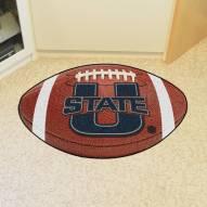 Utah State Aggies Football Floor Mat