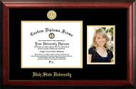 Utah State Aggies Gold Embossed Diploma Frame with Portrait