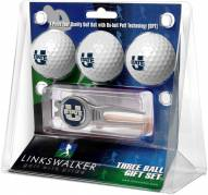 Utah State Aggies Golf Ball Gift Pack with Kool Tool