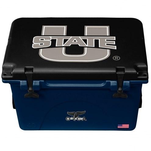Utah State Aggies ORCA 40 Quart Cooler