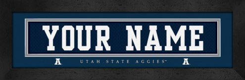 Utah State Aggies Personalized Stitched Jersey Print