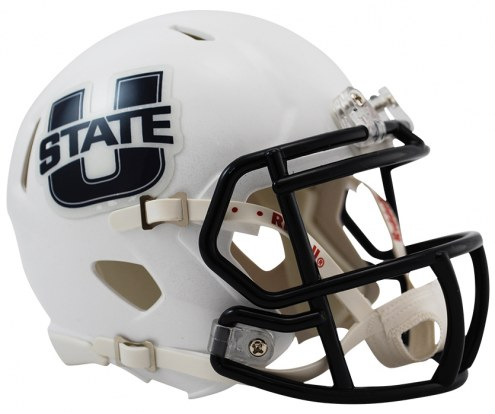 Utah State Aggies Riddell Speed Mini Collectible Football Helmet