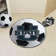 Utah State Aggies Soccer Ball Mat