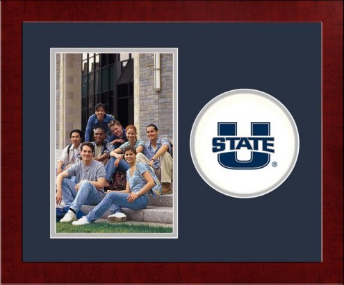 Utah State Aggies Spirit Vertical Photo Frame