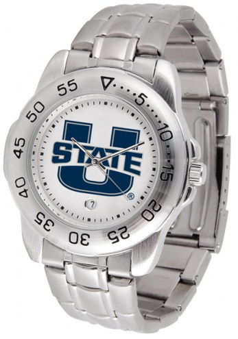 Utah State Aggies Sport Steel Men's Watch