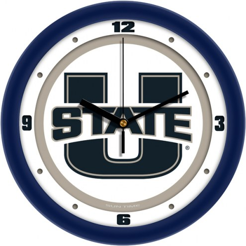 Utah State Aggies Traditional Wall Clock