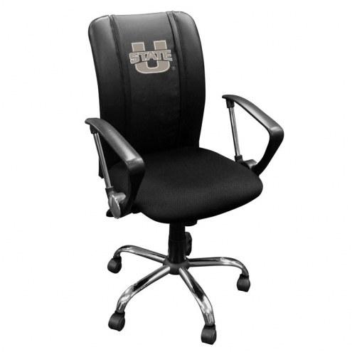 Utah State Aggies XZipit Curve Desk Chair