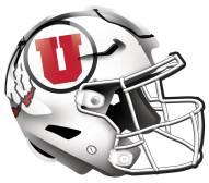 """Utah Utes 12"""" Helmet Sign"""