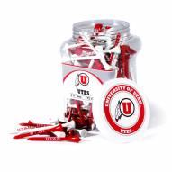 Utah Utes 175 Golf Tee Jar