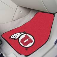 Utah Utes 2-Piece Carpet Car Mats