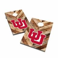 Utah Utes 2' x 3' Cornhole Bag Toss