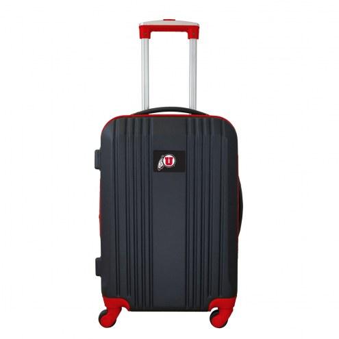 """Utah Utes 21"""" Hardcase Luggage Carry-on Spinner"""