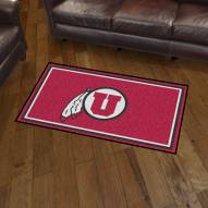 Utah Utes 3' x 5' Area Rug