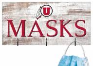 "Utah Utes 6"" x 12"" Mask Holder"