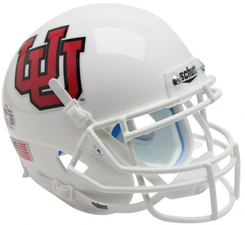 Utah Utes Alternate 10 Schutt XP Collectible Full Size Football Helmet