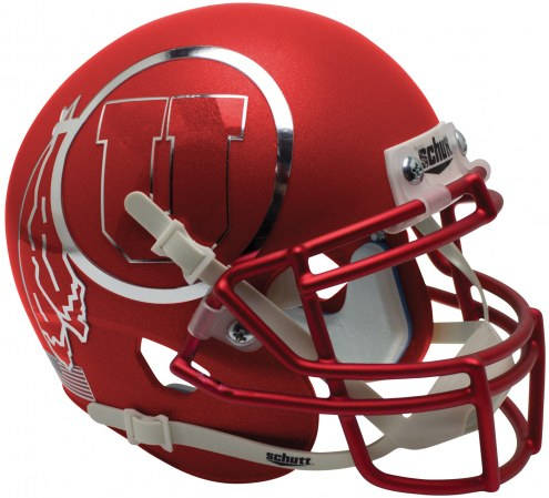Utah Utes Alternate 12 Schutt XP Authentic Full Size Football Helmet