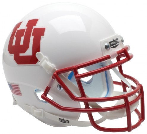Utah Utes Alternate 4 Schutt XP Authentic Full Size Football Helmet