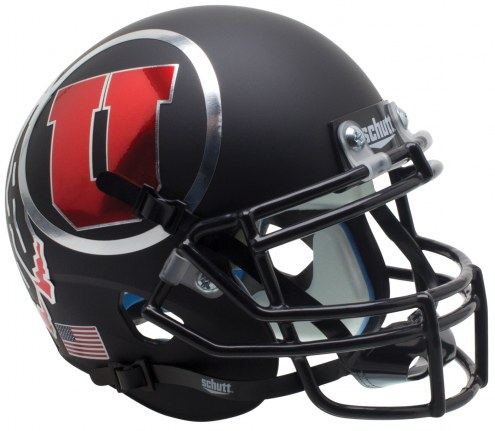 Utah Utes Alternate 7 Schutt Mini Football Helmet