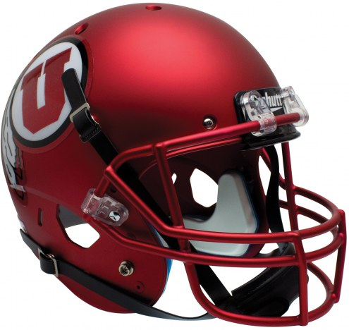 Utah Utes Alternate 9 Schutt XP Collectible Full Size Football Helmet
