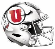 Utah Utes Authentic Helmet Cutout Sign