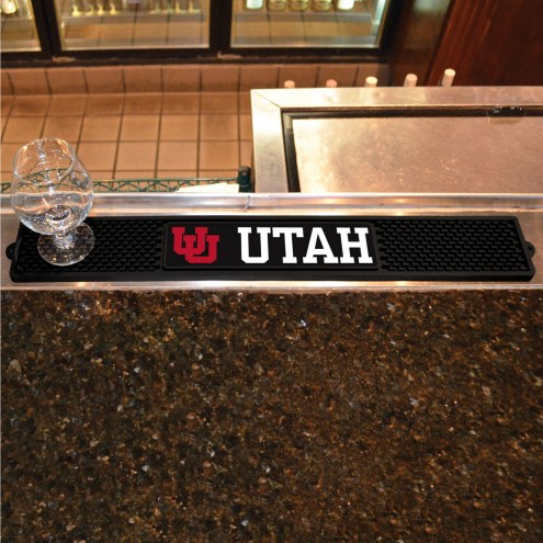Utah Utes Bar Mat
